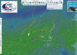J/133 sailing ARC Atlantic Rally