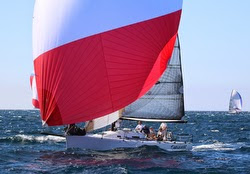 J/125 Timeshaver sailing Long Point Race Week