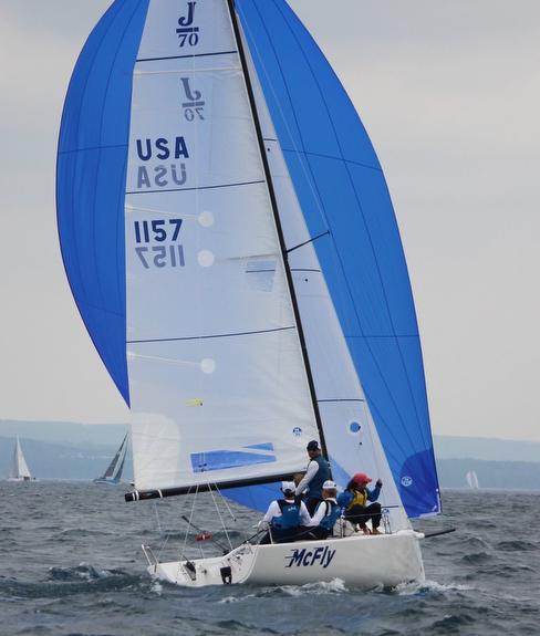 J/70s sailing Ugotta Regatta