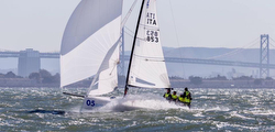 J/70 sailing San Francisco