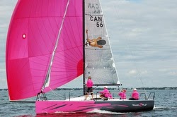 J/88 Canada- sailing fast