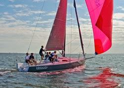 J/88 winning the Danish race
