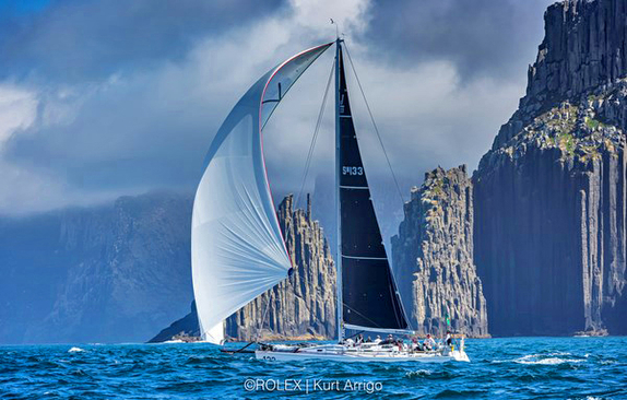 J/133 sailing Rolex Sydney Hobart Race