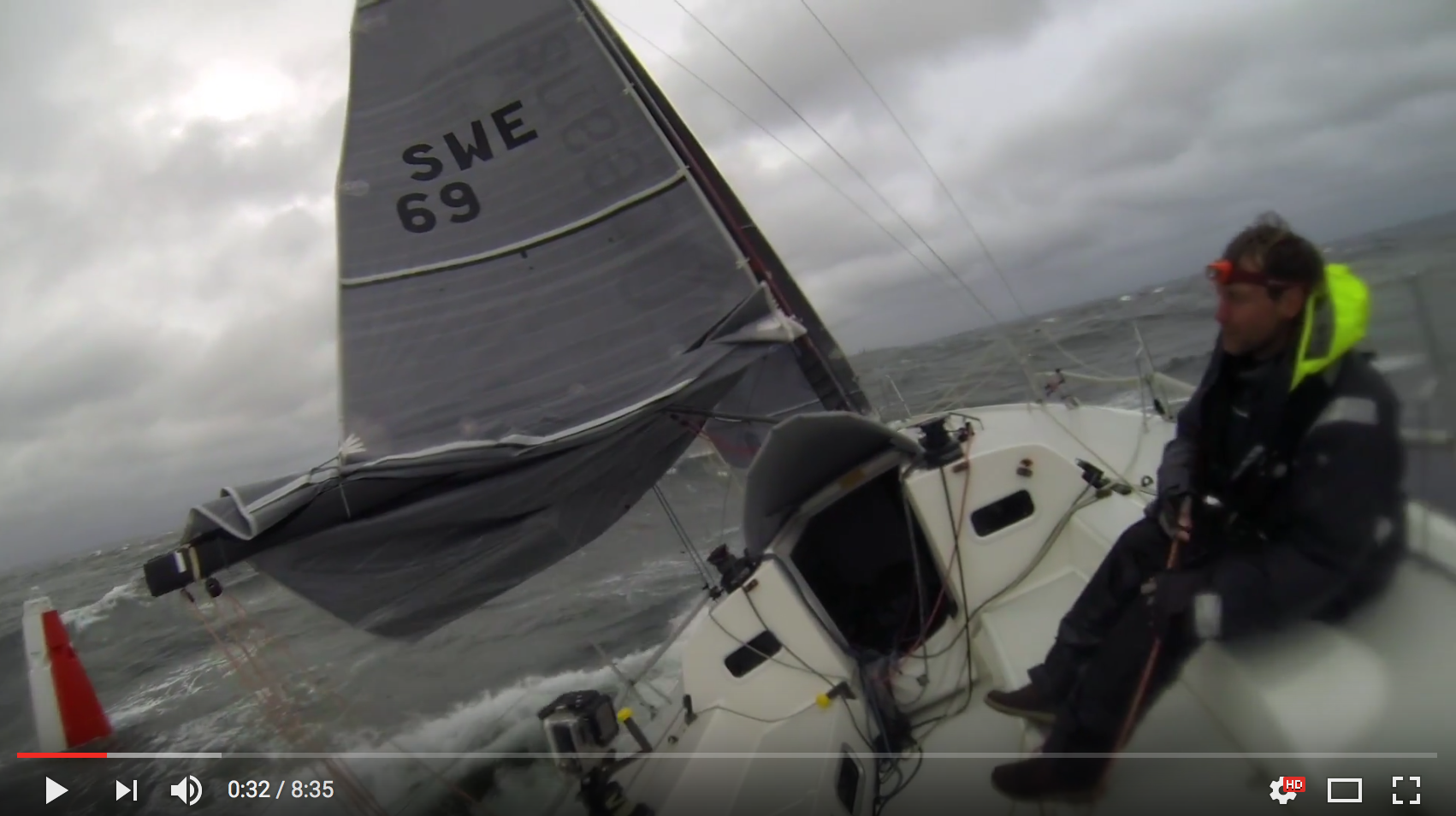 J/111 BLUR.SE sailing Gothenburg Offshore Race