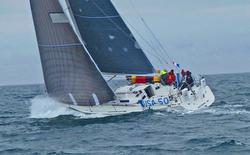 J/120 sailing Swiftsure Race