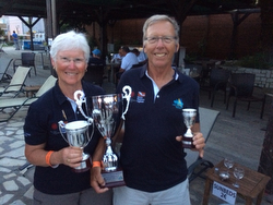 J/42 CANTY wins silverware in the Mediterranean