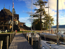 Lake George Club- host of J/24 Changing of Colors regatta