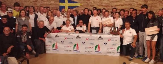 J/24 Italian Championship leaders