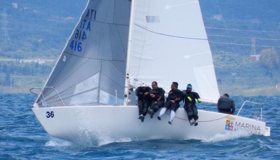 J/24 sailing Italian Championship