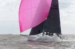 J/88 sailing Warsash series