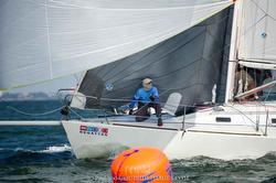 J/105 sailing St Pete NOOD