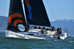 J/111 Aeolus- sailing San Francisco Bay