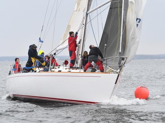 J/44 sailing American YC fall series