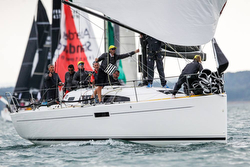 J/112E sailing Cowes Week