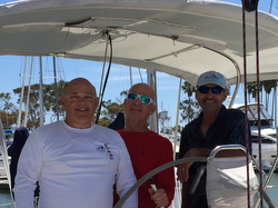J/46 crew of Bolero sailing Pacific!