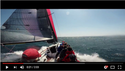 More J/125 Warrior sailing video