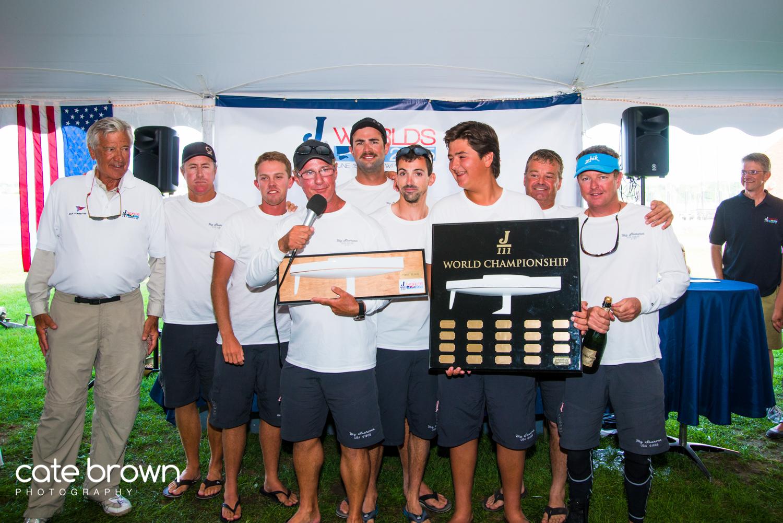 J/111 World Champions- George Gamble's MY SHARONA from Pensacola, FL