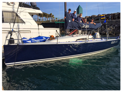 J/88 Blue Flash- winner of Ensenada Race