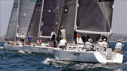 J/120s sailing at Long Beach Race Week
