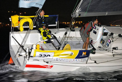 J/11S sailing TransQuadra Racd