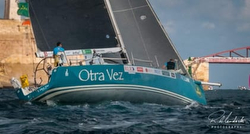 J/122 sailing Rolex Middle Sea Race