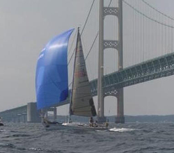J/29 sailing Chicago Mac Race