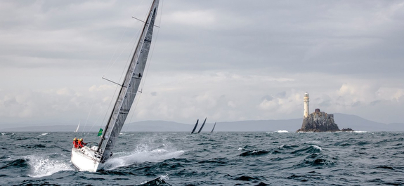 J/122 sailing Fastnet Race