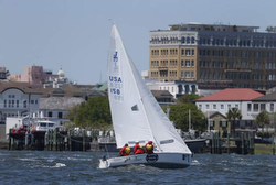 J/22 Warrior Sailing Team at Charleston Race Week