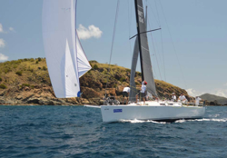 J/122 Liquid sailed BVI- Pamala Baldwin