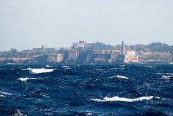 Havana, Cuba harbor approach