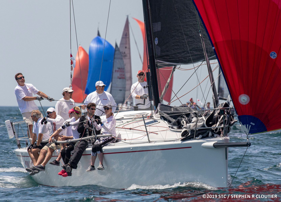 J/109 sailing Block Island Race Week
