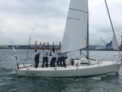 Australians- winners of J/80 World University Championship