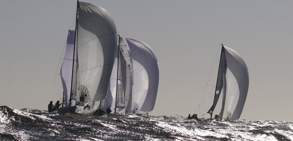 J/70s sailing offshore- Punta del Este, Uruguay