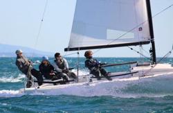 Ullman Sails testing J/70 sails