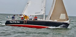 J/105 sailing to Nantucket