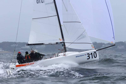 J/70 Africa- Jud Smith winning Worlds