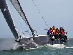 J/111 JELVIS sailing Round Island Race- skipper Martin Dent