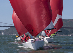 J/70 sailing San Francisco Bay