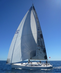 J/122 Lithium sailing doublehanded race in Australia