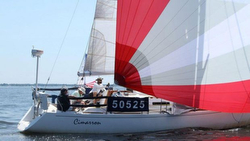 J/110 sailing Annapolis to Bermuda Race