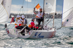J/70 sailing Russian National Sailing League