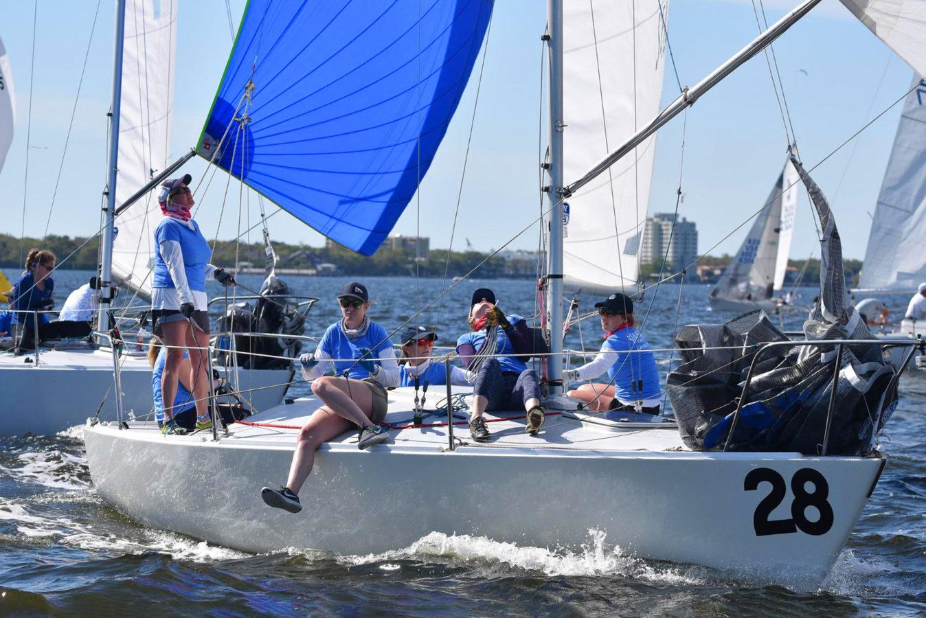 J/24s sailing Tampa Bay