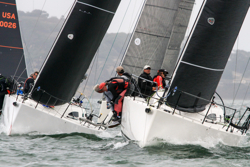 J/111s sailing San Francisco