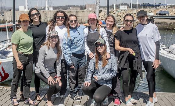 Chilean women J/70 teams