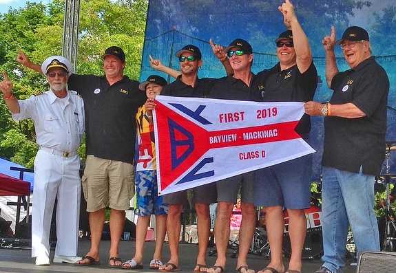 J/121 wins Bayview Mackinac Race