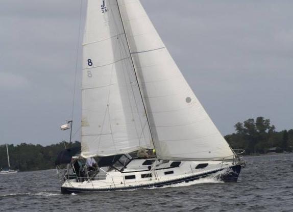 J/34c MOJO sailing off Sarasota