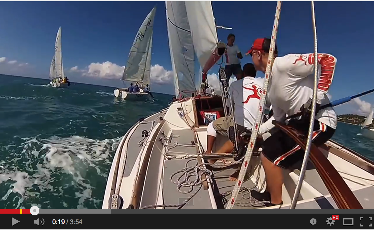 J/22 Jammin' Jamaica- Geronimo sailing video