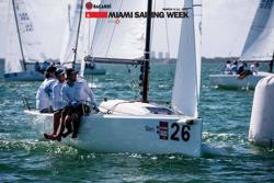Bruce Golison's Midlife Crisis sailing Bacardi Miami