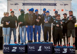 Winners of J/70 Russian Sailing League- Sochi, Russia