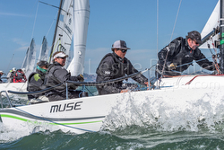 J/70 MUSE sailing Rolex Big Boat Series